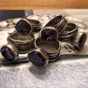 Silpada Gladiator Glam Ring Sizes 5 1/2, 6, 7 & 9